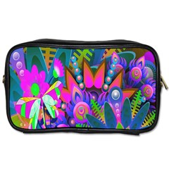 Abstract Digital Art  Toiletries Bags 2-Side