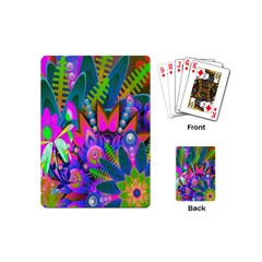 Abstract Digital Art  Playing Cards (mini)