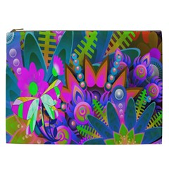 Abstract Digital Art  Cosmetic Bag (XXL)