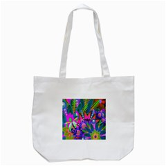 Abstract Digital Art  Tote Bag (white)