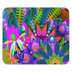 Abstract Digital Art  Double Sided Flano Blanket (Small)