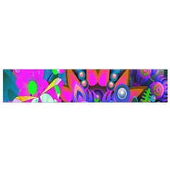 Abstract Digital Art  Flano Scarf (small)