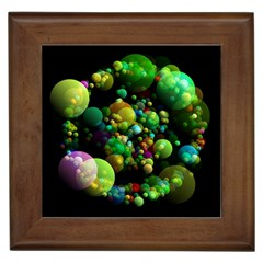 Abstract Balls Color About Framed Tiles