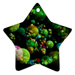 Abstract Balls Color About Ornament (Star)