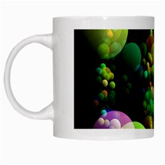 Abstract Balls Color About White Mugs