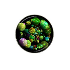 Abstract Balls Color About Hat Clip Ball Marker (4 pack)