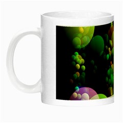 Abstract Balls Color About Night Luminous Mugs