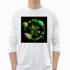 Abstract Balls Color About White Long Sleeve T-Shirts