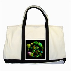 Abstract Balls Color About Two Tone Tote Bag