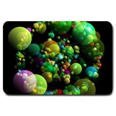Abstract Balls Color About Large Doormat