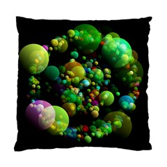 Abstract Balls Color About Standard Cushion Case (two Sides)