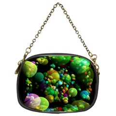 Abstract Balls Color About Chain Purses (Two Sides)