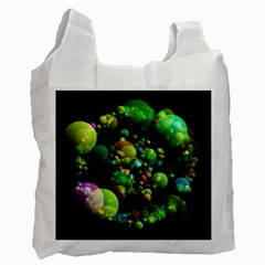 Abstract Balls Color About Recycle Bag (One Side)