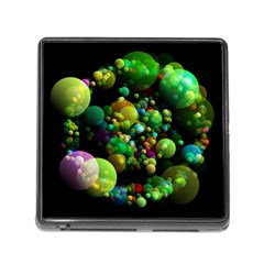 Abstract Balls Color About Memory Card Reader (square)