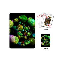 Abstract Balls Color About Playing Cards (Mini)