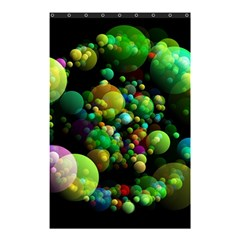 Abstract Balls Color About Shower Curtain 48  x 72  (Small)
