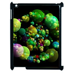 Abstract Balls Color About Apple iPad 2 Case (Black)