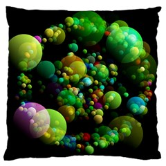 Abstract Balls Color About Large Cushion Case (two Sides)