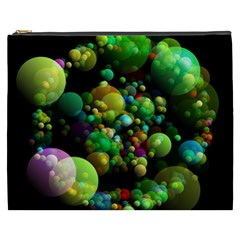 Abstract Balls Color About Cosmetic Bag (XXXL)