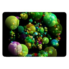 Abstract Balls Color About Samsung Galaxy Tab 8.9  P7300 Flip Case