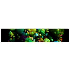 Abstract Balls Color About Flano Scarf (Small)