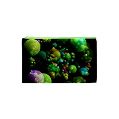 Abstract Balls Color About Cosmetic Bag (XS)