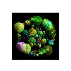 Abstract Balls Color About Satin Bandana Scarf