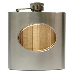 Abstract Art Backdrop Background Hip Flask (6 oz)