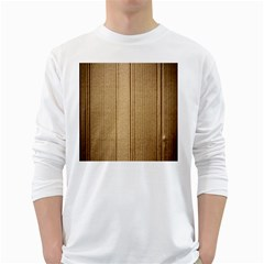 Abstract Art Backdrop Background White Long Sleeve T-Shirts