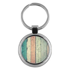 Abstract Board Construction Panel Key Chains (Round)