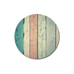 Abstract Board Construction Panel Magnet 3  (Round)