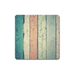 Abstract Board Construction Panel Square Magnet