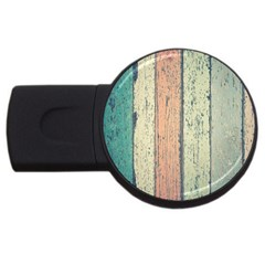 Abstract Board Construction Panel USB Flash Drive Round (4 GB)