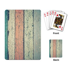 Abstract Board Construction Panel Playing Card