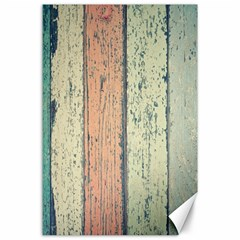 Abstract Board Construction Panel Canvas 24  x 36