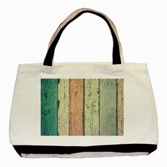 Abstract Board Construction Panel Basic Tote Bag (Two Sides)