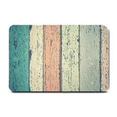 Abstract Board Construction Panel Small Doormat