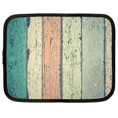 Abstract Board Construction Panel Netbook Case (Large)
