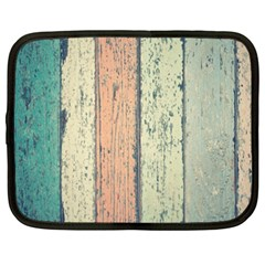 Abstract Board Construction Panel Netbook Case (XXL)