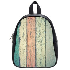 Abstract Board Construction Panel School Bags (Small)
