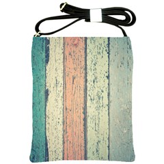 Abstract Board Construction Panel Shoulder Sling Bags