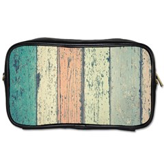 Abstract Board Construction Panel Toiletries Bags 2-Side