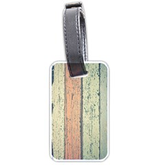 Abstract Board Construction Panel Luggage Tags (one Side)