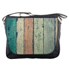 Abstract Board Construction Panel Messenger Bags