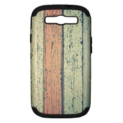 Abstract Board Construction Panel Samsung Galaxy S Iii Hardshell Case (pc+silicone)