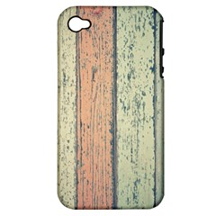 Abstract Board Construction Panel Apple Iphone 4/4s Hardshell Case (pc+silicone)