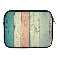 Abstract Board Construction Panel Apple iPad 2/3/4 Zipper Cases