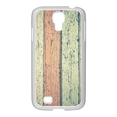 Abstract Board Construction Panel Samsung GALAXY S4 I9500/ I9505 Case (White)