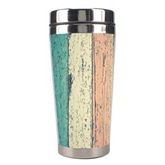 Abstract Board Construction Panel Stainless Steel Travel Tumblers