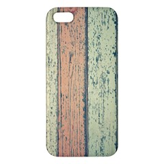 Abstract Board Construction Panel iPhone 5S/ SE Premium Hardshell Case